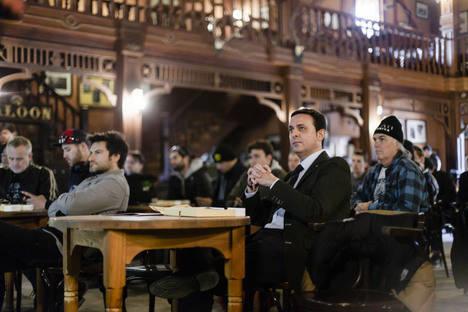 'Costa de Almería' deslumbra a 90 periodistas de todo el mundo en la presentación de Ducati Scrambler DS