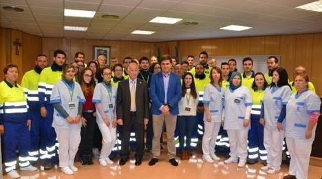 Amat recibe a los primeros 44 trabajadores de los Planes de Empleo Joven y +30