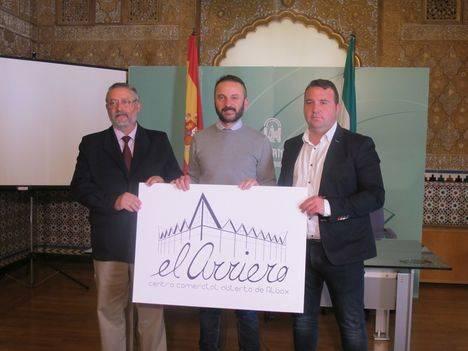 Reconocimiento oficial al nuevo Centro Comercial Abierto 'El Arriero' de Albox por parte de la Junta