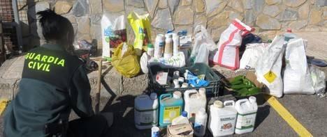 Detenidos por robo de material agrícola en el Poniente