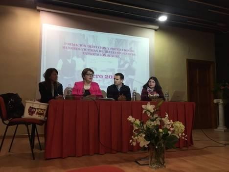 Purchena acoge un curso formativo para la atención a menores víctimas de trata y explotación sexual