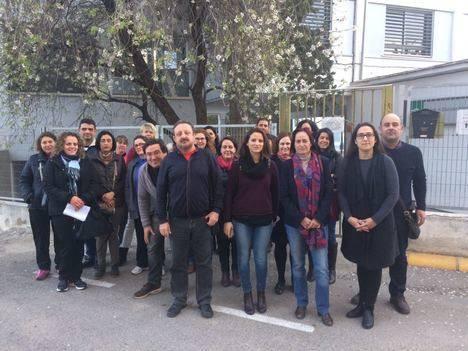Izquierda Unida se niega al cierre de colegios públicos en Albox