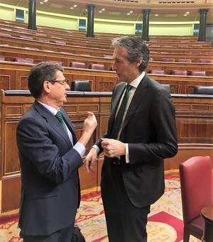 PP y Ciudadanos pactan instar al Gobierno a establecer un calendario que garantice la ejecución del Corredor entre Murcia y Almería