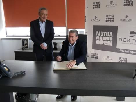 Cosentino y el Mutua Madrid Open estrechan lazos en Almería
