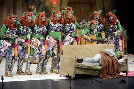 El Maestro Padilla se llena con la disputa de las semifinales del Concurso de Agrupaciones del Carnaval