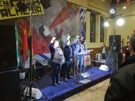 José Manuel Mariscal cierra la VII Fiesta del PCA en Almería llamando a la movilización para el 28-F