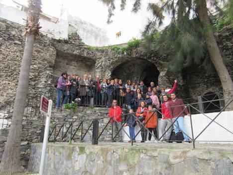 Unidos por Turaniana visita Almuñécar como ejemplo de puesta en valor de un yacimiento arqueológico