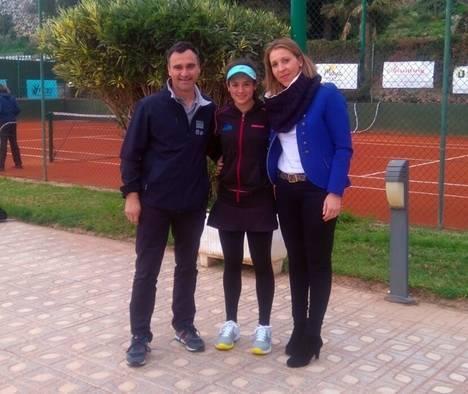 Silvia Vargas gana su segundo Madrid Open Sub 16 en Almería