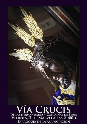 El Nazareno presidirá el Vía Crucis de las Cofradías de Berja