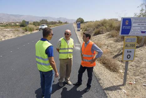 Diputación actualiza la Red Viaria Provincial con 800 señales y 5.000 metros lineales de biondas