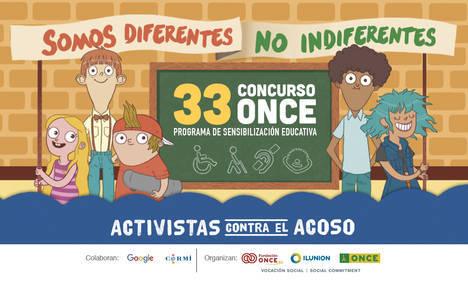 """La ONCE y su Fundación convierten a más de 4.600 escolares de Almería en """"activistas contra el acoso"""""""