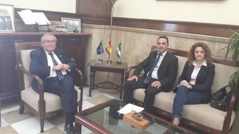 Subdelegado del Gobierno y alcalde de La Mojonera tratan sobre seguridad