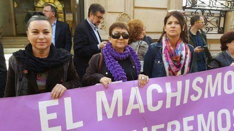 IU se une al Paro internacional de la mujer con una concentración en la Diputación de Almería