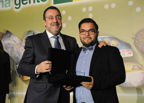 Nicolás Vázquez Fernández elegido mejor vendedor de la ONCE 2016 en Almería