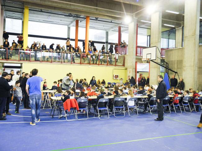 Más de 200 escolares participan en Carboneras del programa de promoción del ajedrez de Diputación