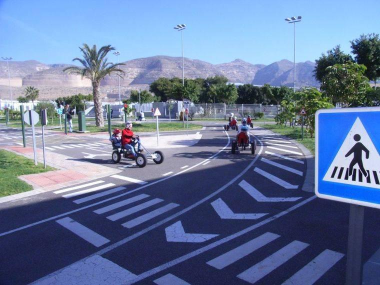 Los Geranios abre el proyecto de Educación Vial destinadas a las guarderías