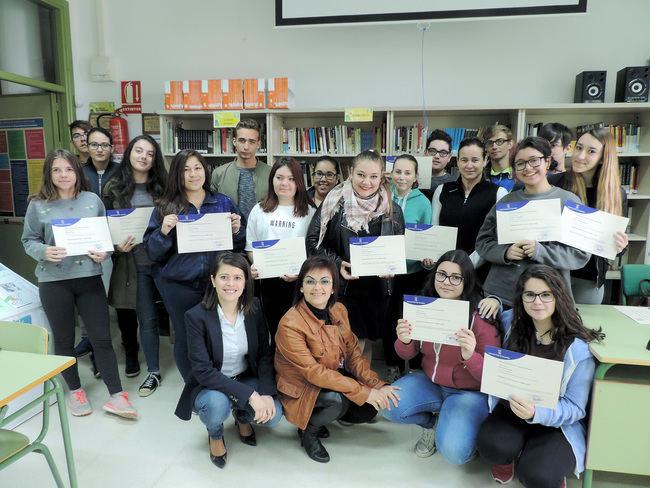 Diputación clausura un curso de Dinamizadores para el Ocio y Tiempo Libre en Mojácar