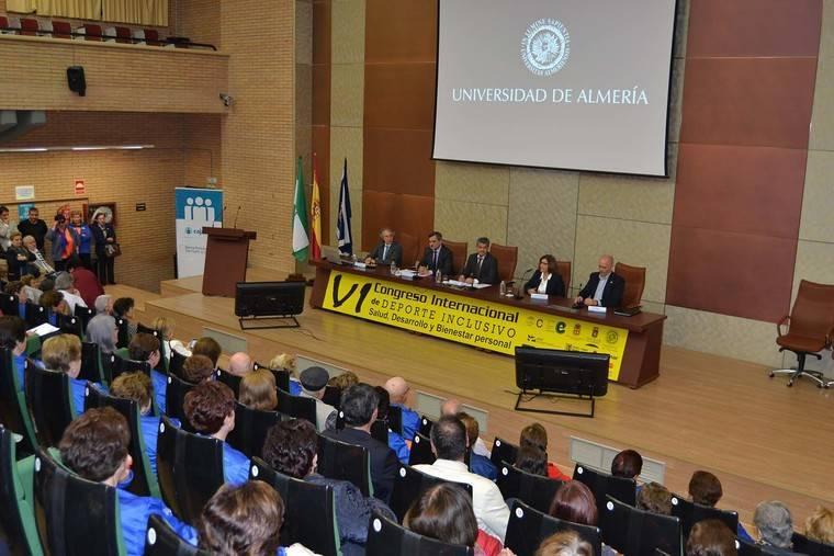La UAL celebra el VI Congreso de Deporte Inclusivo para dar más visibilidad a colectivos en riesgo de exclusión social
