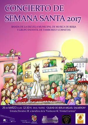 Concierto de Semana Santa este domingo en la Escuela Municipal de Música de Berja