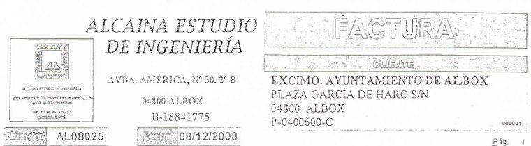 El Ayuntamiento de Albox pagó 320.000 euros al yerno del teniente de Alcalde por una depuradora fantasma