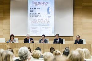 Diputación con GAEPI para sensibilizar a los almerienses contra el Cáncer de Cérvix