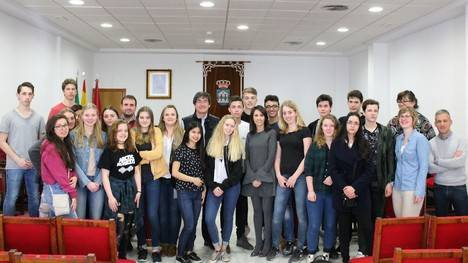 Estudiantes holandeses visitan Adra gracias a un programa de intercambio del IES Abdera