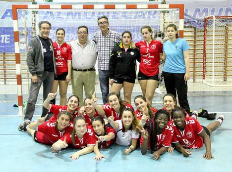 Balonmano Roquetas campeón de Andalucía Juvenil Femenino