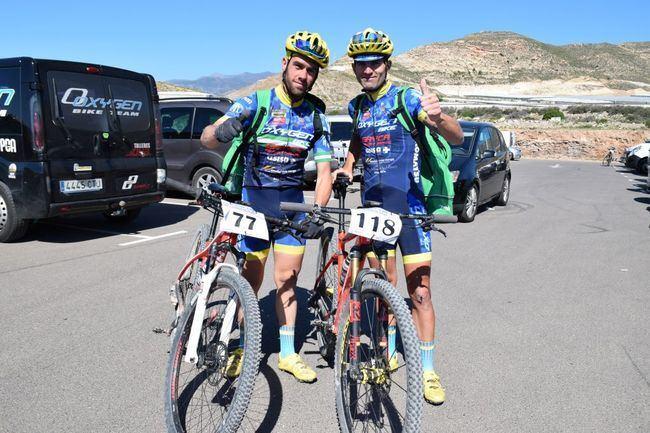 Juan Francisco Rodríguez, del Club Oxygenbike, se impone en el IV Maratón BMT Ciudad de Vícar