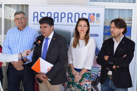 Ciudadanos apremia a la Junta a dar respuesta el concierto de 42 plazas titularidad de Aspapros