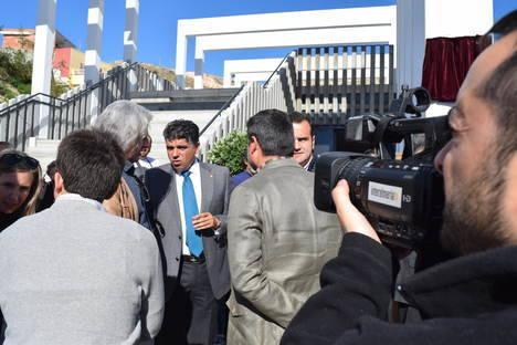 """Cazorla: """"El centro social de Pescadería debe convertirse en eje central para dinamizar el barrio"""""""