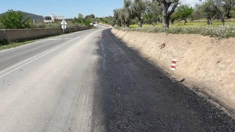 Diputación mejora el firme en la carretera AL-5402 entre Laujar y Bayárcal