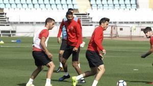 La UD Almería apura cada segundo antes de recibir al Sevilla Atlético