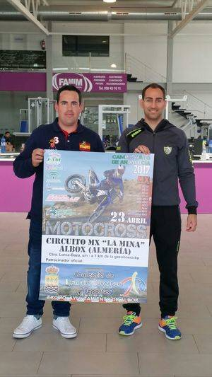 El Circuito 'La Mina' de Albox acogerá el día 23 de abril el Campeonato de Andalucía de Motocross