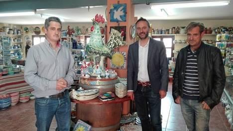 Taller artesanal de Sorbas 'Alfarería Juan Simón' recibe 4.600 euros en ayudas