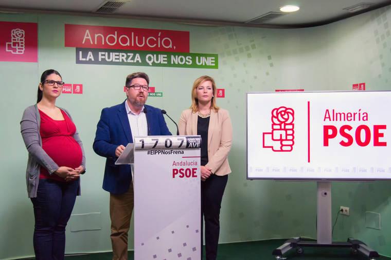 Iniciativa del PSOE en el Parlamento para instar al Gobierno del PP al encauzamiento del río Adra