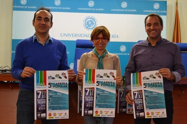Más de 600 deportistas participarán en la 5ª Carrera Popular de la UAL