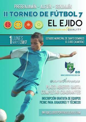 El II Torneo de Fútbol 7 El Ejido Gourmet Quality cita al futuro del fútbol andaluz