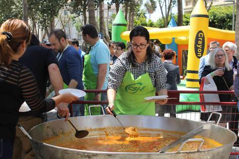 CSIF Almería celebra el 1º de mayo reivindicando la recuperación del empleo y las retribuciones