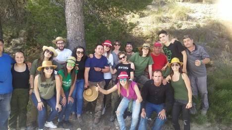 Diputación impulsa entre la juventud de Urrácal el respeto al medio ambiente