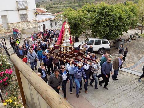Benizalón devociona a la Virgen de la Cabeza en su romería al municipio