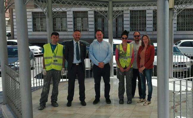 187.500 euros pone la Junta para la contratación de 29 desempleados en Macael