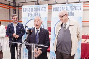 Banco de Alimentos inaugura su nuevo almacén en Roquetas de Mar
