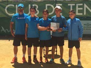El equipo alevín masculino del Club de Tenis de El Ejido consigue el subcampeonato de Andalucía