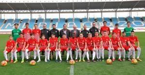 La U.D. Almería rendirá homenaje el sábado a su equipo cadete B campeones en la Primera División Andaluza