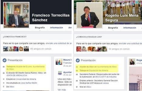 En Facebook Albox es el pueblo de los dos alcaldes