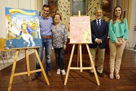 Con la presentación del cartel y programa Vera inicia las fiestas patronales