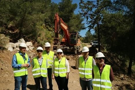 200.000 euros para mejorar caminos forestales en Turre
