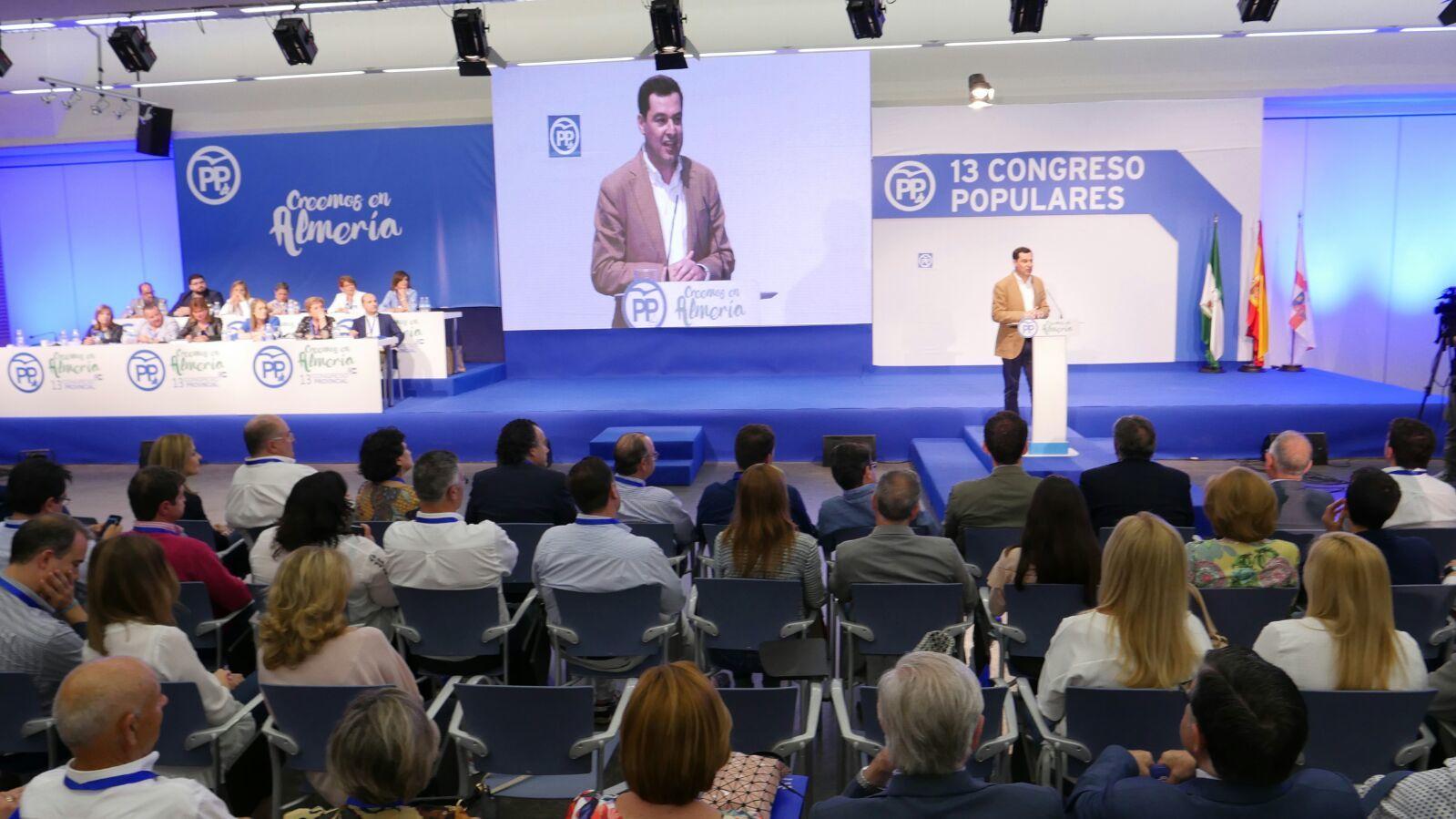 """Juanma Moreno: """"Amat encarna los valores que yo quiero para el PP Andaluz"""""""