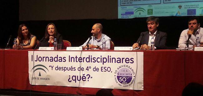 La delegada de Educación celebra con El IES Gaviota de Adra su 50 aniversario