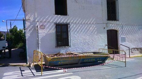Ayuntamiento de Albox comienza la rehabilitación de la Casa del Médico de Las Pocicas